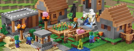 Minecraft i Lego